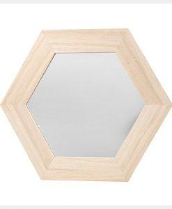 Espejos hexagonales
